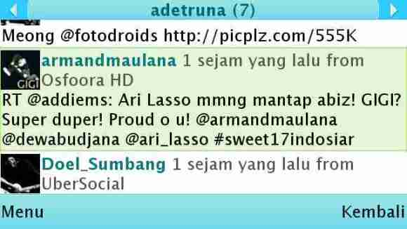 Armand nge-tweet