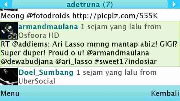 Armand nge-tweet