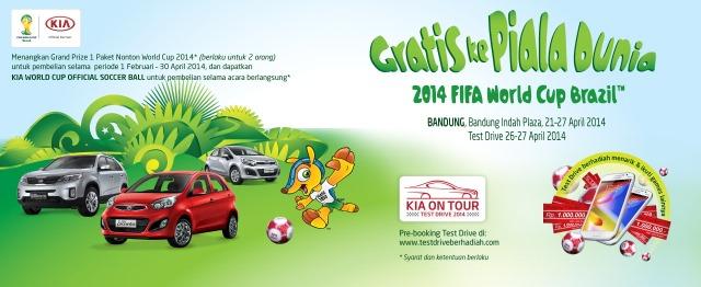 KIA Poster Gratis ke Piala Dunia 2014