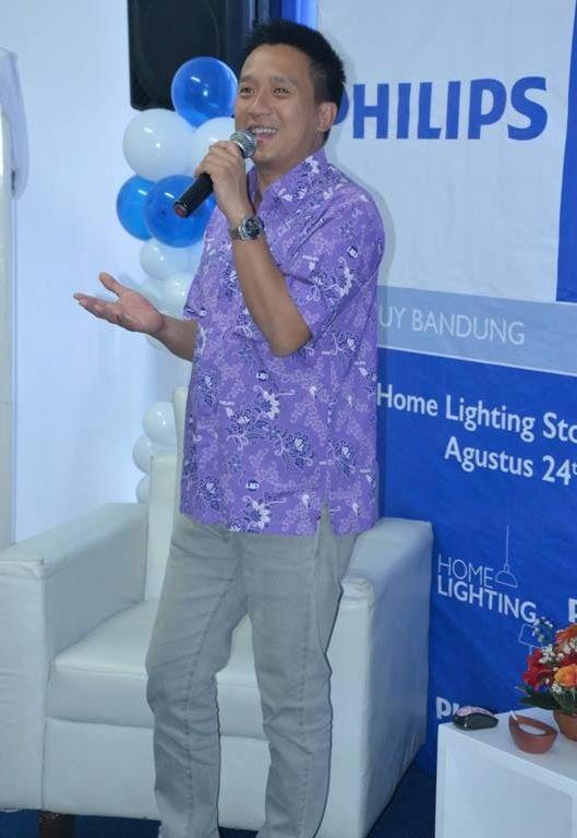 Ryan Tirta Sambutan di Philips Banceuy
