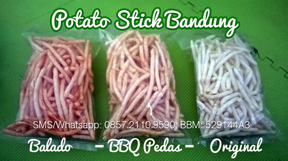 potato stick Bandung 3 varian rasa