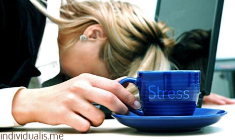 Stress akibat bekerja lembur