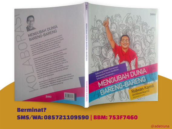 Beli Buku Ridwan Kamil Mengubah Dunia Bareng-Bareng (BBM-753F7460)