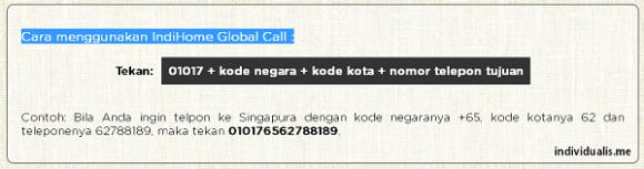 Cara Menggunakan IndiHome Global Call