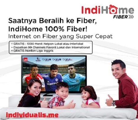 High speed internet Indihome fiber