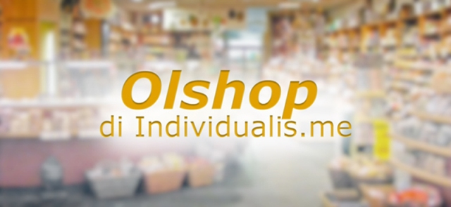Olshop di blog Individualis.me