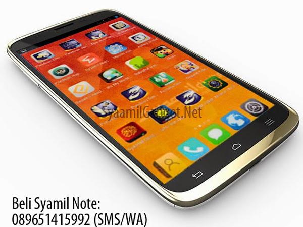 Handphone Syaamil Note