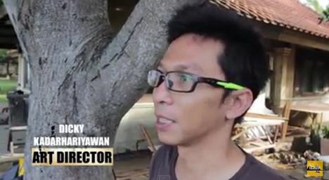 Dicky Kadarhariyawan Art Director film Comic 8 Casino Kings