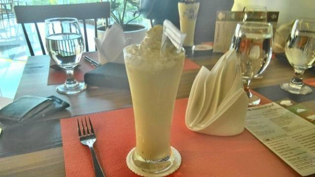 Cassava Coffee di Cilantro Coffee n Resto dibanderol dengan harga 30 ribu