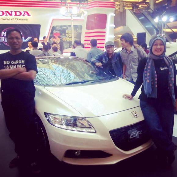 Foto bareng BloggerBDG saat Acara Honda BRV di TSM Bandung