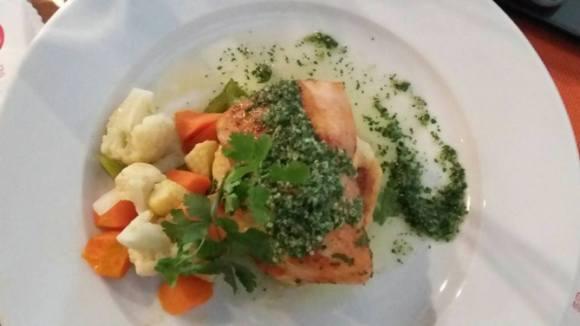 Grill Fish with Pesto Cilantro | 35 ribu