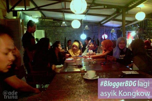 #bloggerBDG kumpul malam minggu di Kopi Panggang Dago
