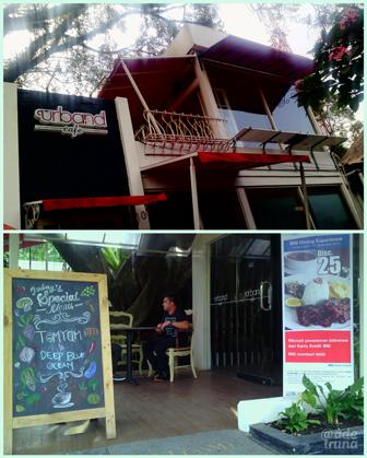 Urband Cafe jalan Diponegoro 25 Bdg