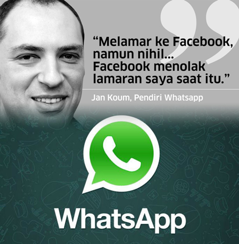 Jim Koum Pendiri Whatsapp