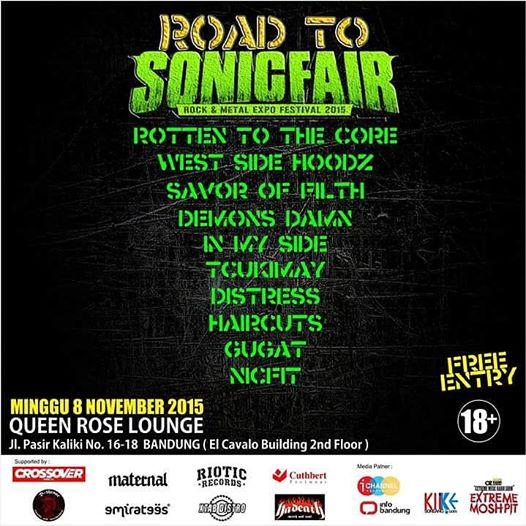10 band yang akan meramaikan Road To Sonicfair
