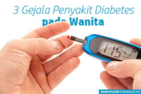 3 Gejala Penyakit Diabetes pada Wanita