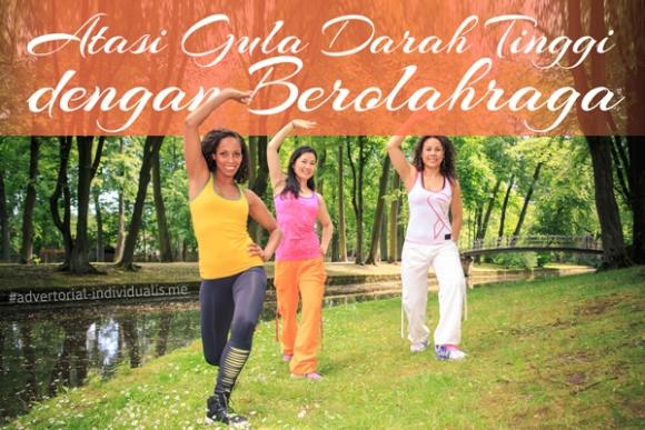 Atasi Gula Darah Tinggi dengan Berolahraga
