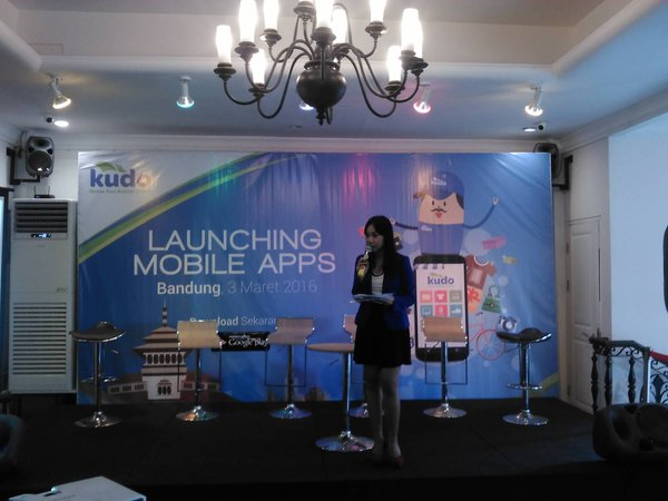 Launching Mobile Apps KUDO Indonesia di Bandung
