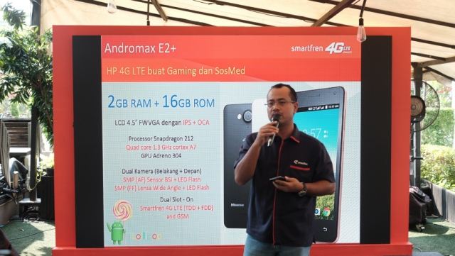 Spesifikasi Andromax E2+