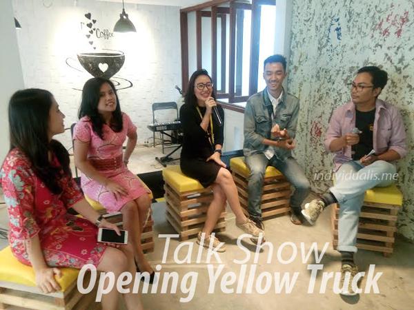 talk show opening tellow truck bandung