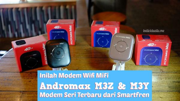 Apapun Gadgetnya Kini Bisa di #4GinAja  Pakai Smartfren MiFi Andromax M3Z &M3Y