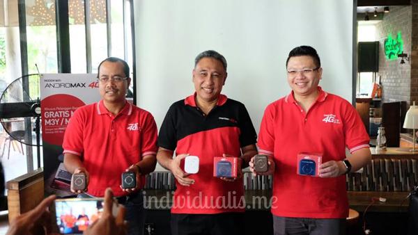 suasana peluncuran modem terbaru andromax MiFi dari Smartfren (26/7) di Jakarta