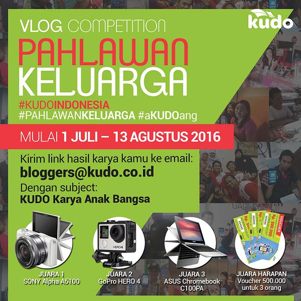 Vlog Competition Pahlawan Keluarga KUDOIndonesia