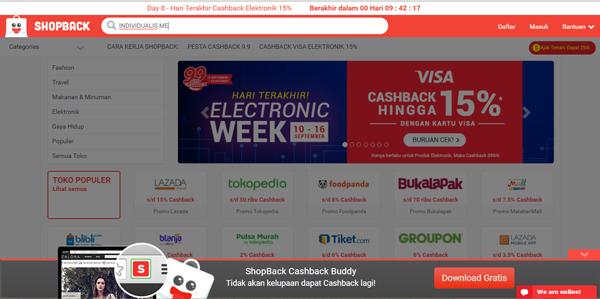 homepage shopback 2016