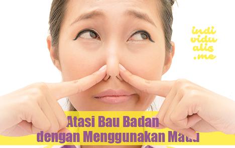 atasi bau badan dengan menggunakan madu