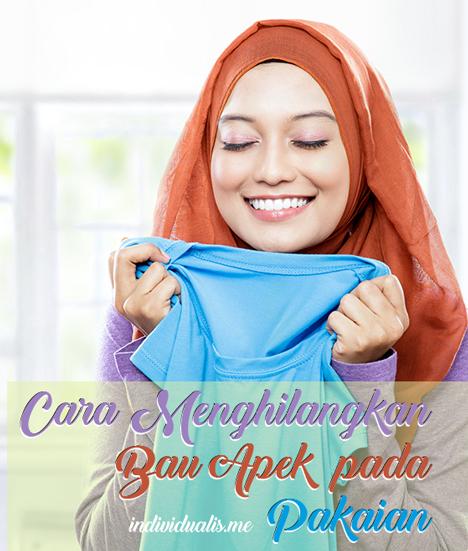 cara menghilangkan bau apek pada pakaian